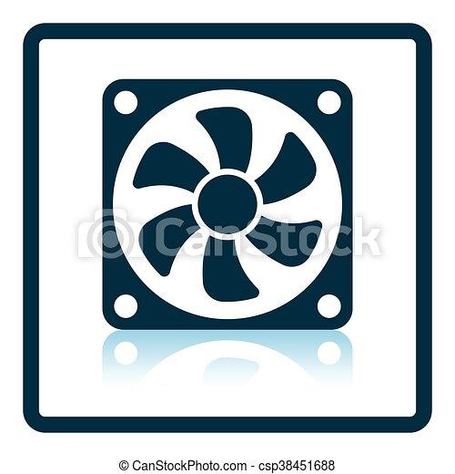Fan icon - csp38451688