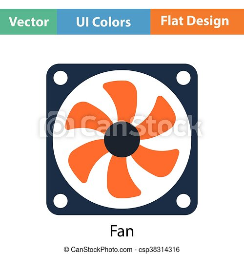 Fan icon - csp38314316