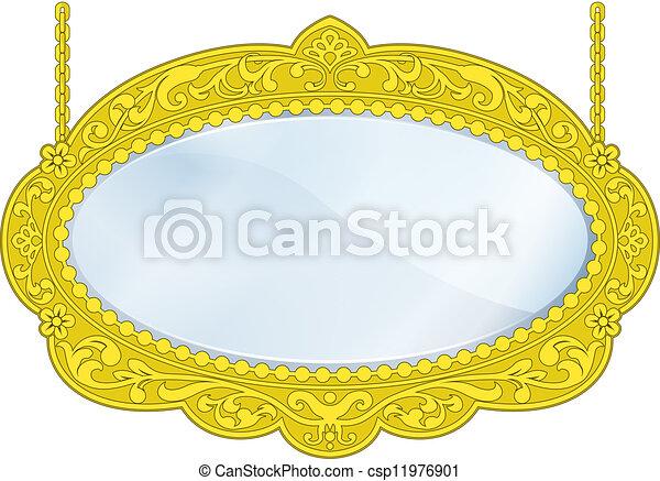 Fancy Boutique Mirror - csp11976901