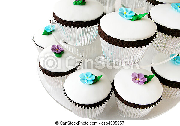 Fancy Cup Cakes - csp4505357