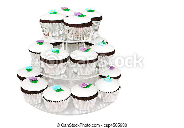 Fancy Cup Cakes - csp4505930