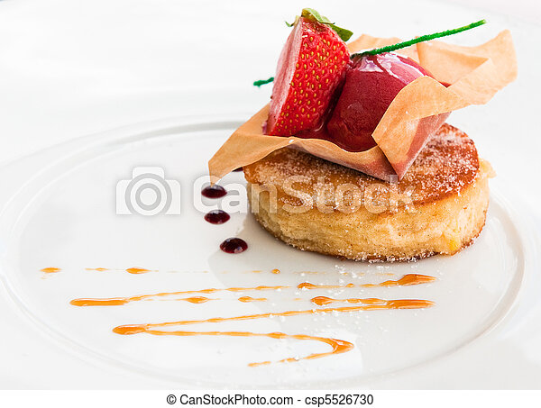fancy dessert - csp5526730