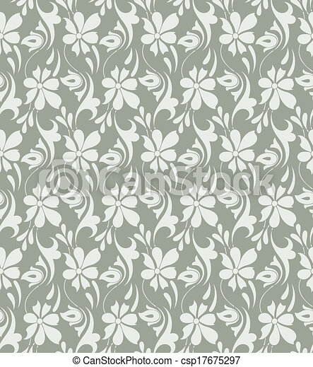 fancy floral background csp17675297