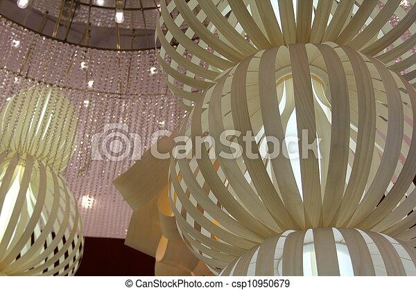 Fancy Interior Hanging Lamps - csp10950679