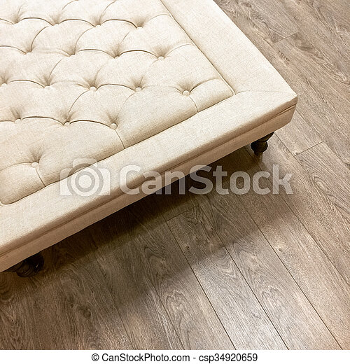 Awesome Fancy Ottoman On Wooden Floor Beatyapartments Chair Design Images Beatyapartmentscom