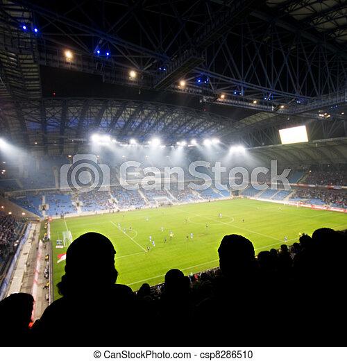 Fans celebrating goal - csp8286510