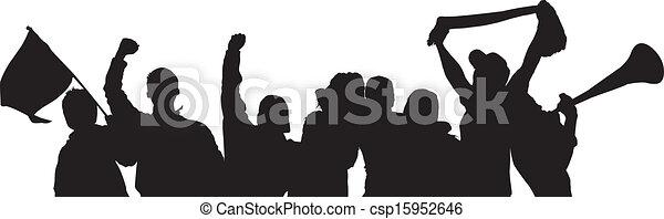 Fans Cheering - csp15952646