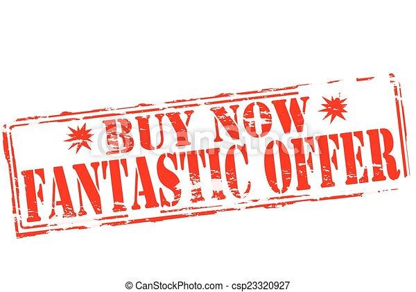 Una oferta fantástica - csp23320927