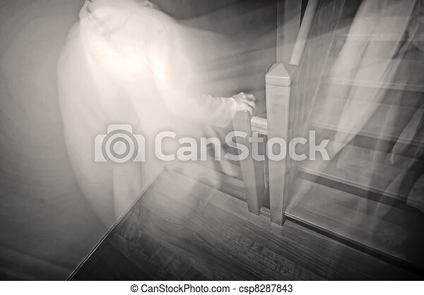fantôme - csp8287843