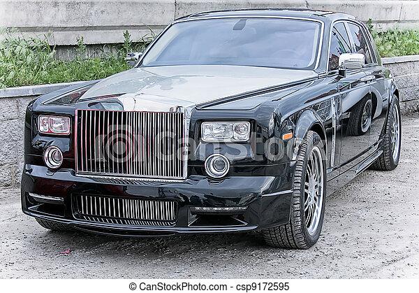 fantôme, voiture, rouleaux, riche, royce. fantôme, voiture, supercar