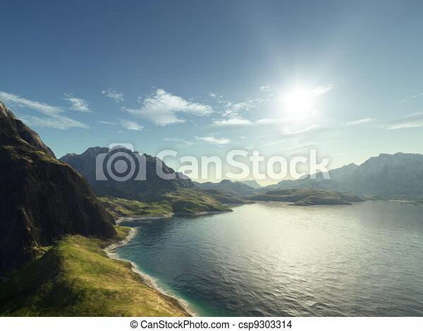 Un paisaje fantástico - csp9303314