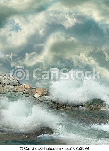 fantasia, paesaggio - csp10253899