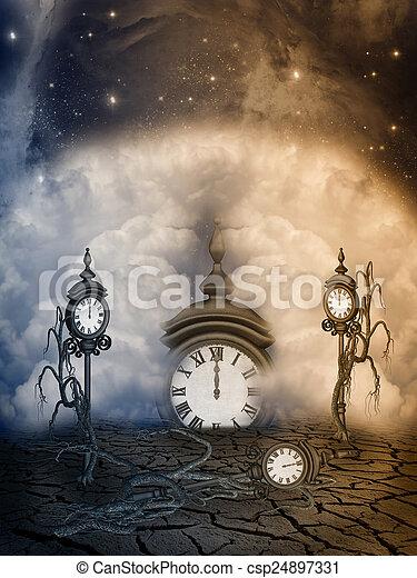 fantasia, paesaggio - csp24897331