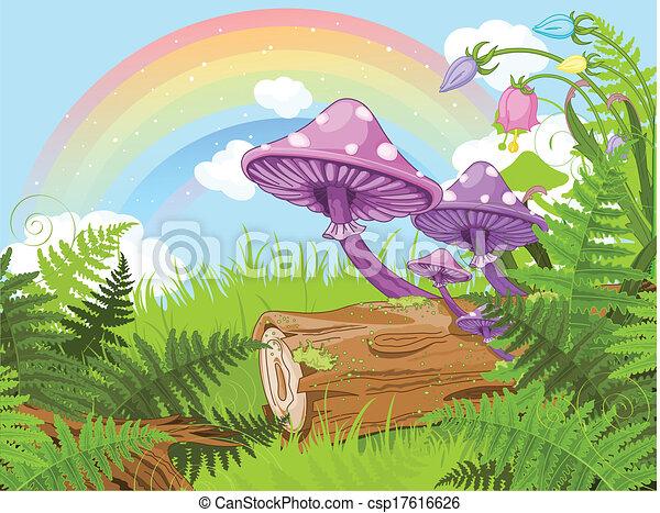 fantasia, paesaggio - csp17616626