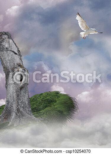 fantasia, paesaggio - csp10254070