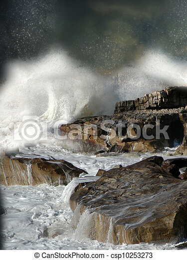fantasie, landschaftsbild - csp10253273