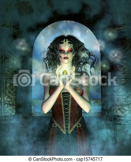 fantasie, magisches - csp15745717