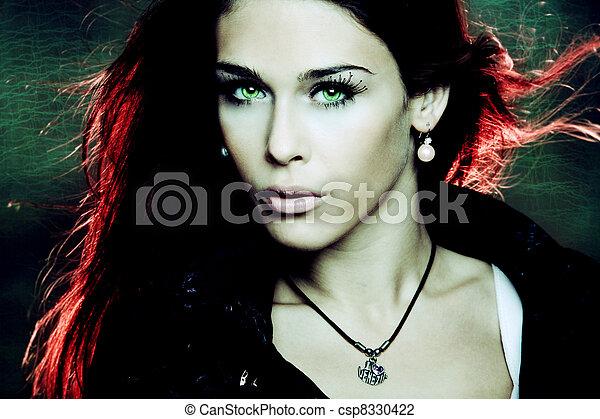 fantasie, vrouw - csp8330422