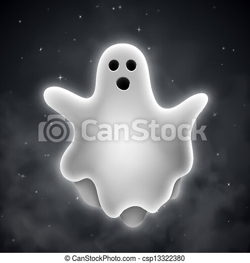 Fantasmas al aire libre - csp13322380