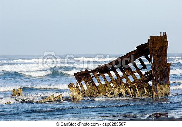 fantasma, barco - csp0283507