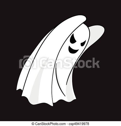 Illustrazione vettori di fantasma carattere cartone - Cartone animato immagini immagini fantasma immagini ...
