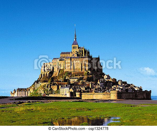 Fantastic castle - csp1324778