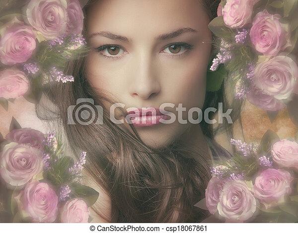 fantasy beauty - csp18067861