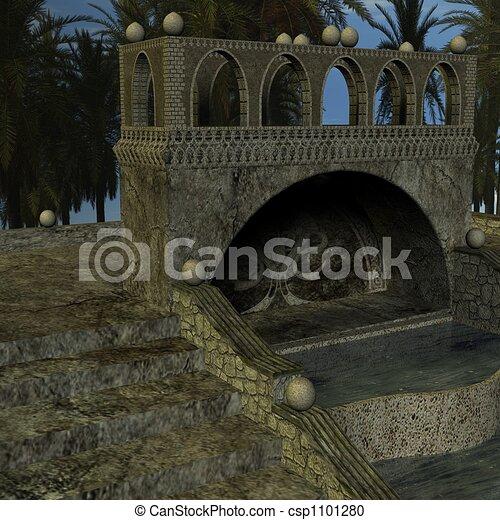 Fantasy Building - csp1101280