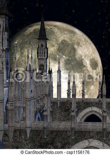 Fantasy Castle - csp1156176