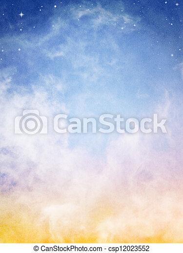 Fantasy Clouds - csp12023552