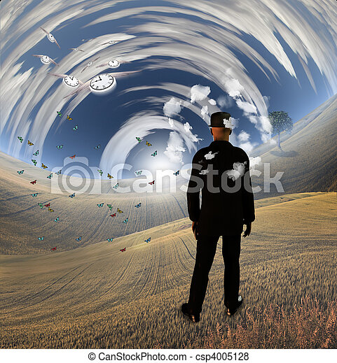 Fantasy Landscape II - csp4005128
