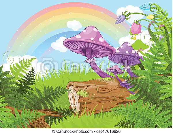 Fantasy landscape - csp17616626