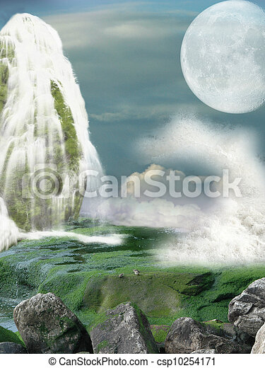Fantasy landscape - csp10254171