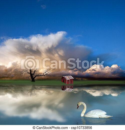 Fantasy landscape - csp10733856