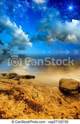 Fantasy landscape  - csp27102150