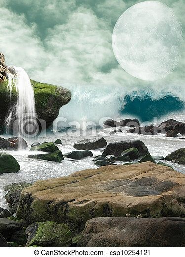 fantasy landscape - csp10254121