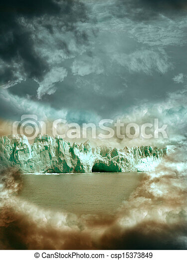 fantasy landscape - csp15373849
