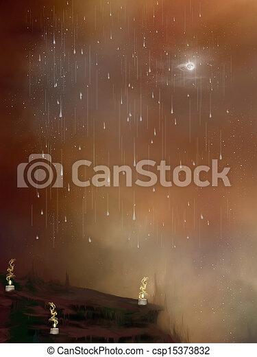 fantasy landscape - csp15373832