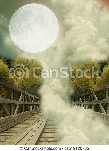 Fantasy Landscape - csp19120735
