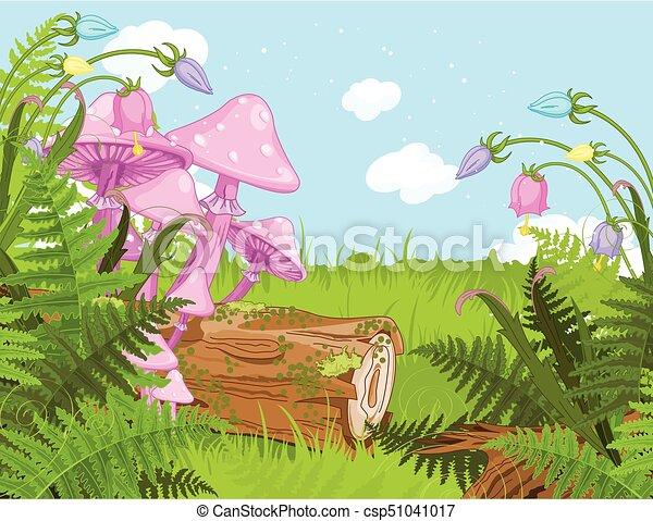 Fantasy Landscape - csp51041017