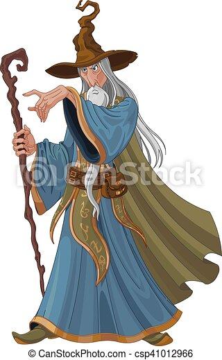 Fantasy Style Wizard - csp41012966