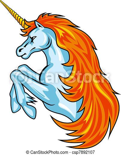 Fantasy unicorn - csp7892107
