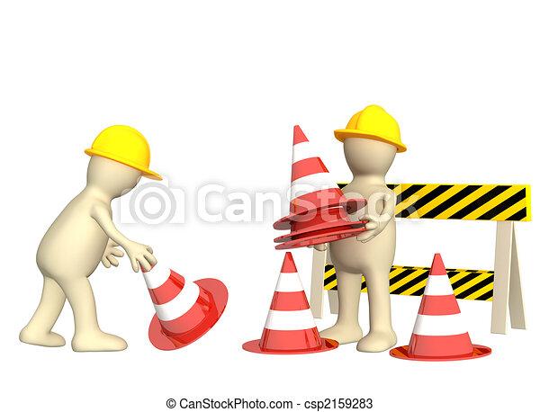 fantoches cones emergência 3d fantoches 3d cones emergência