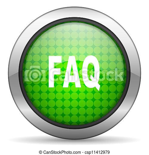 faq icon - csp11412979