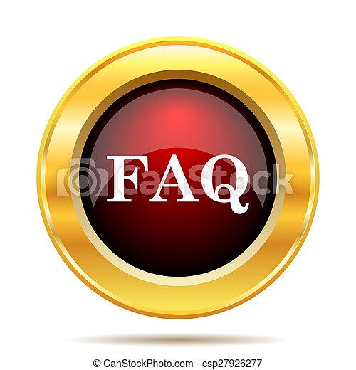 FAQ icon - csp27926277