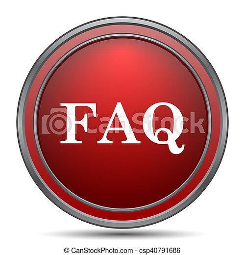 FAQ icon - csp40791686
