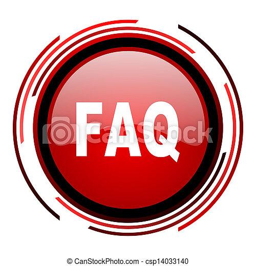 faq icon - csp14033140