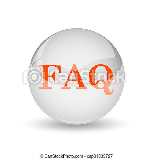 FAQ icon - csp31333727