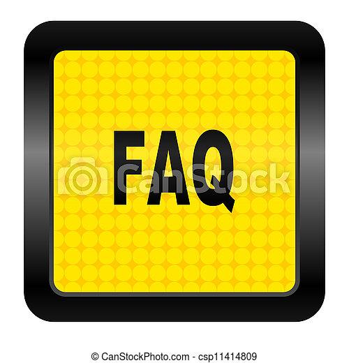 faq icon - csp11414809