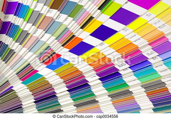 farba swatches - csp0034556